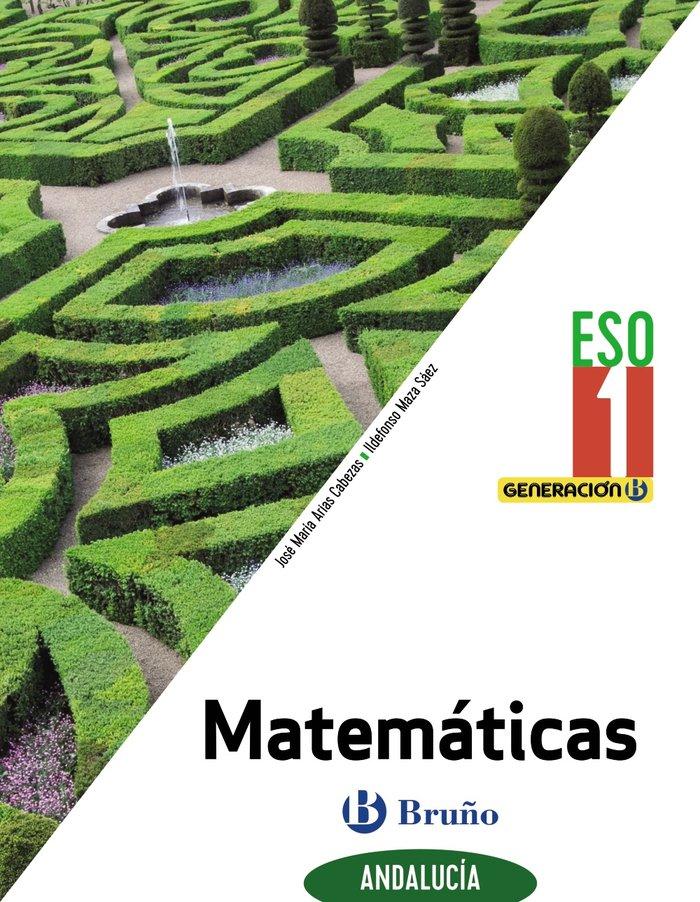 Matematicas 1ºeso andalucia 20 generacion b