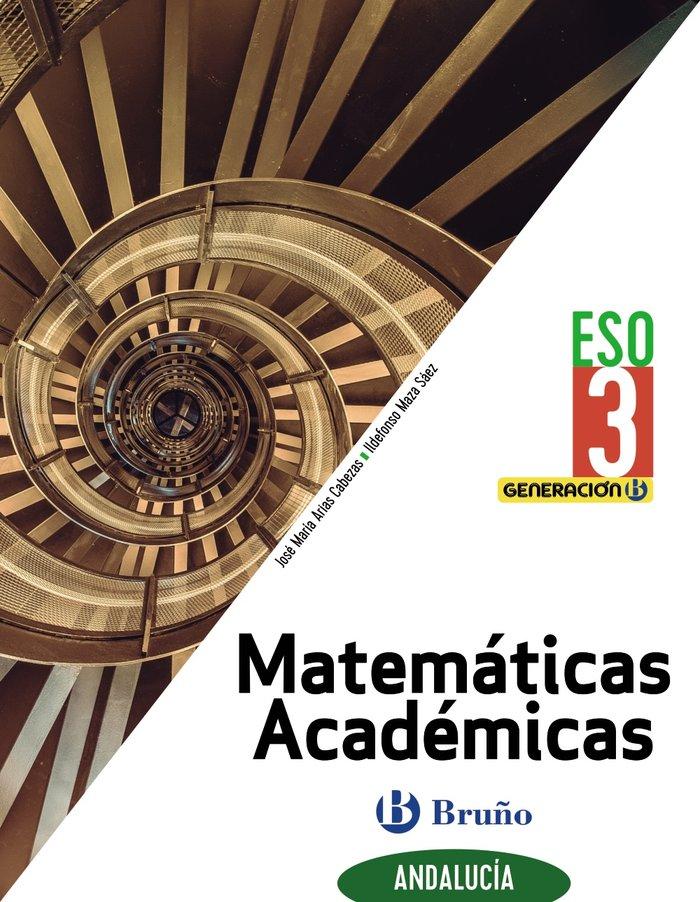 Matematicas academicas 3ºeso andalucia 20 generaci
