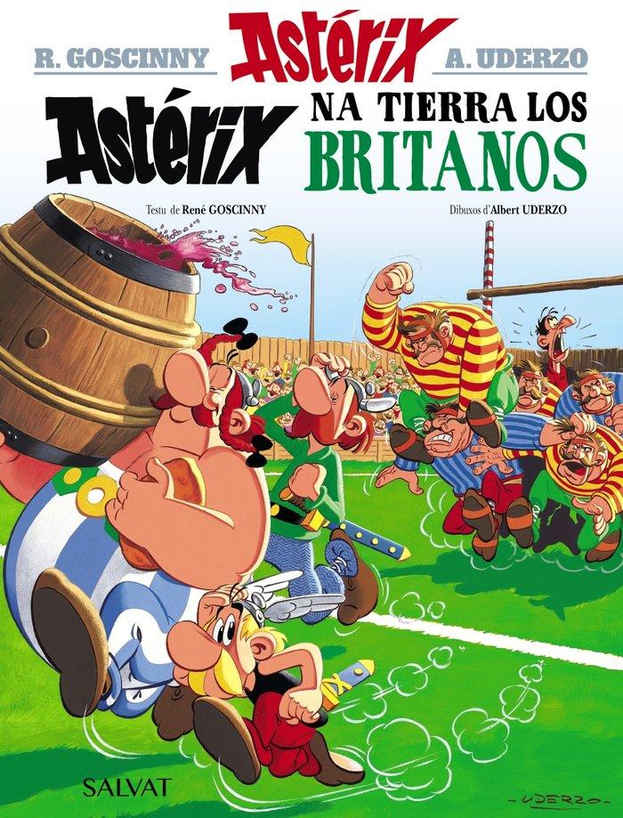 Asterix na tierra los britanos asturiano