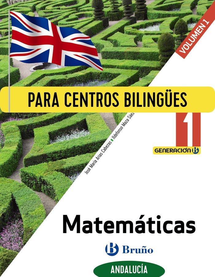 Matematicas 1ºeso trim.biling.andal.20 generacion