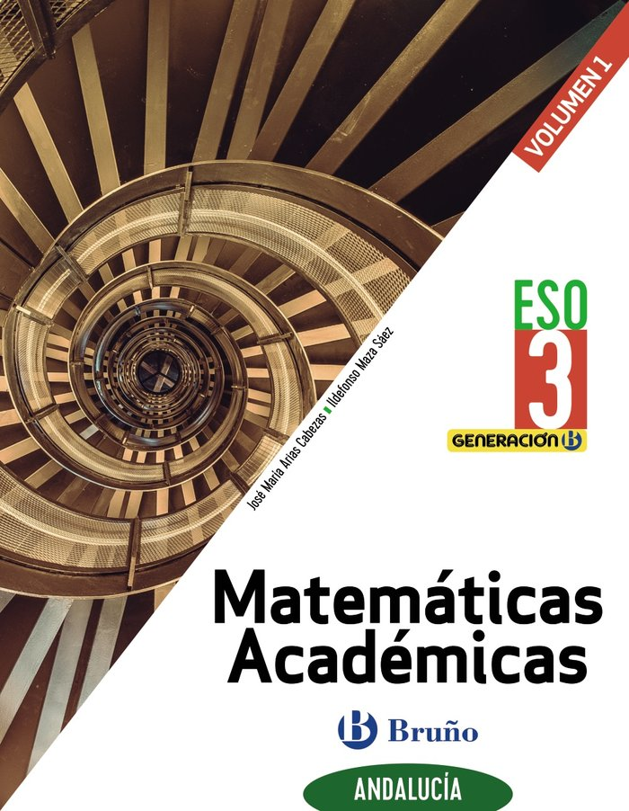 Matematicas academicas 3ºeso trim.andal. 20 genera