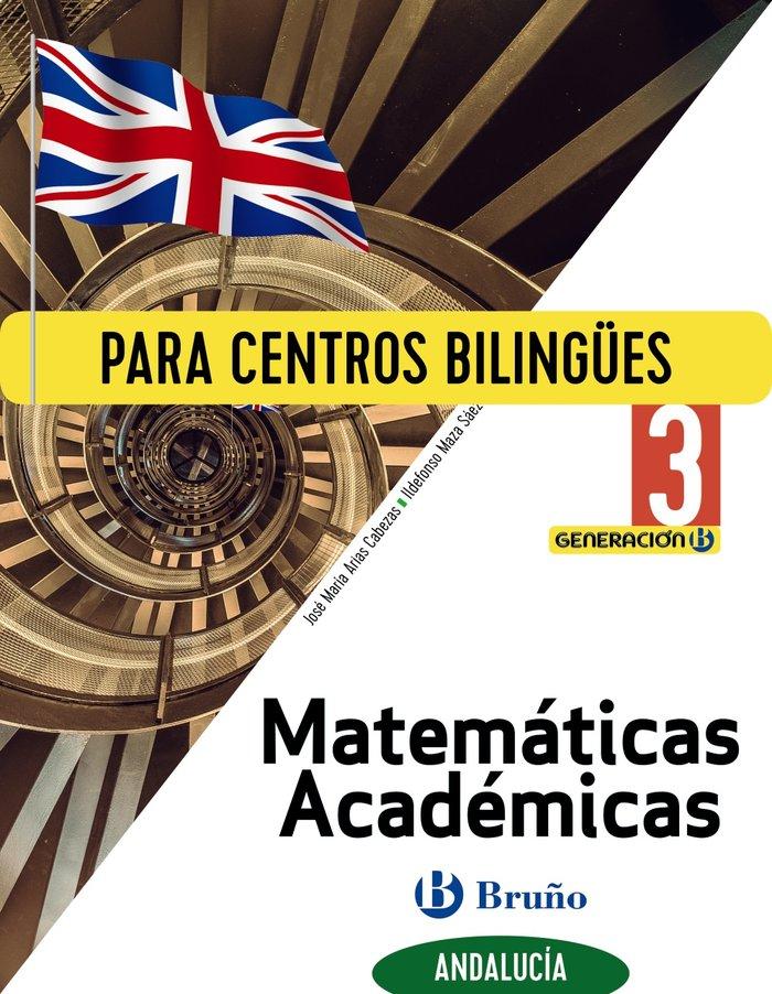 Matematicas academ.3ºeso biling.andalucia 20 gener