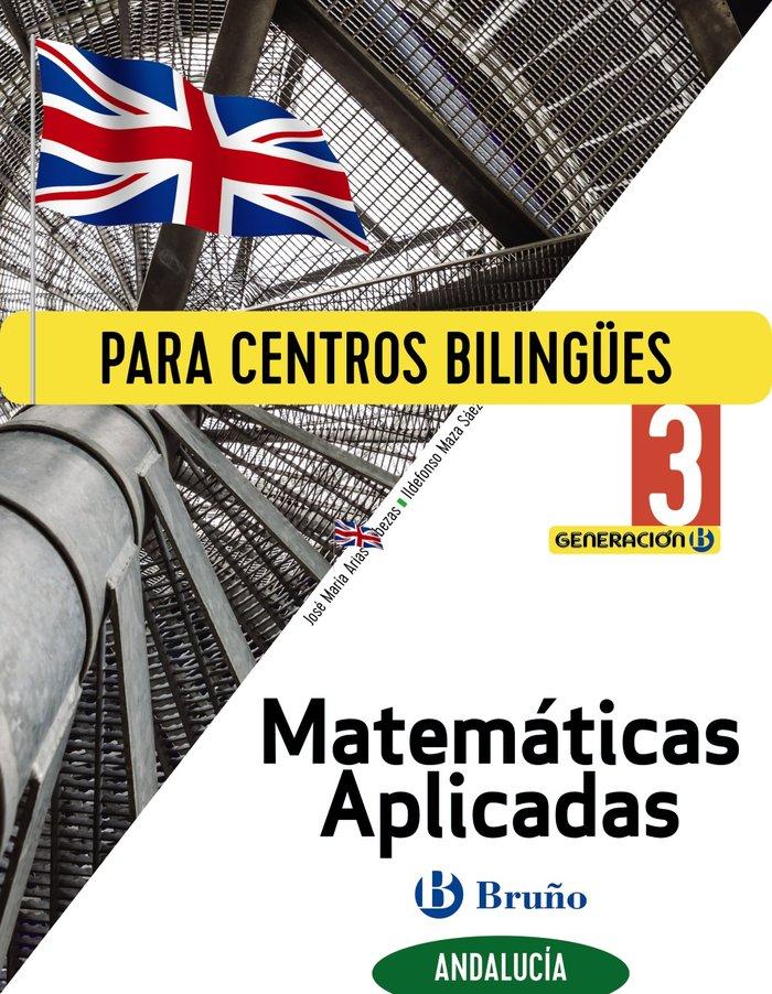 Matematicas aplic.3ºeso biling.andal.20 generacion