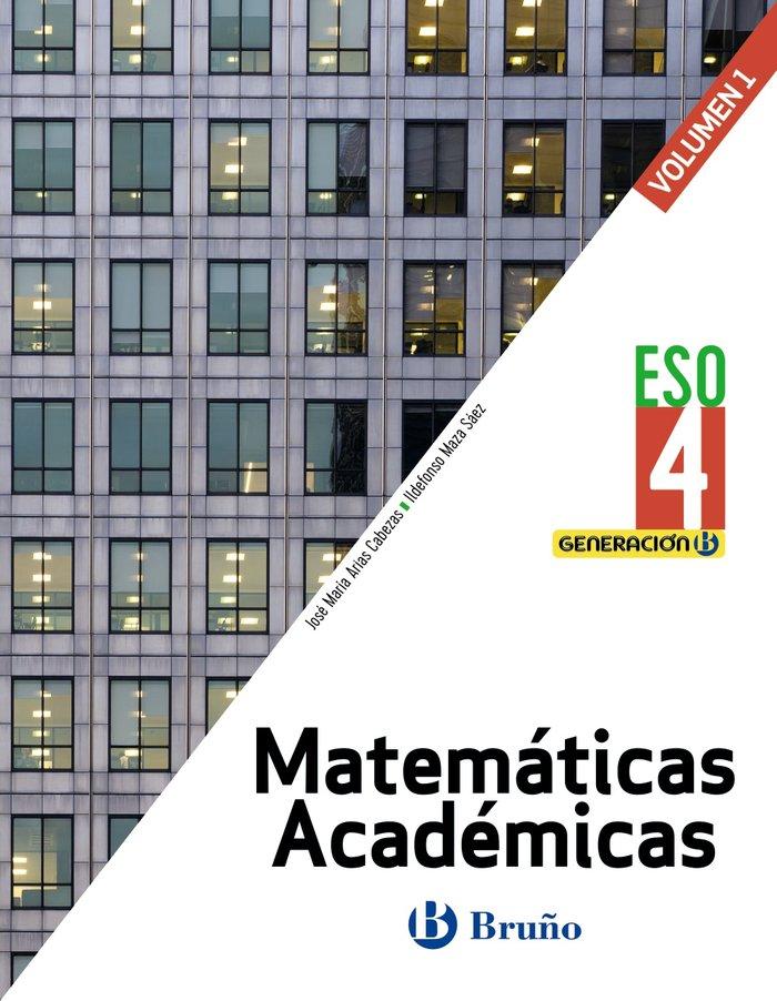 Matematicas academicas 4ºeso trimestres 21 generac