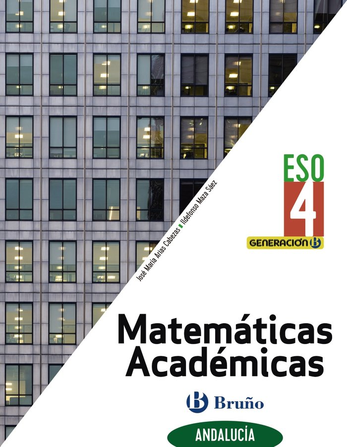 Matematicas academicas 4ºeso biling.andal.21 gener