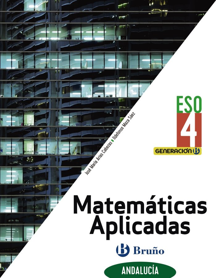 Matematicas aplicadas 4ºeso biling.andal.21 genera