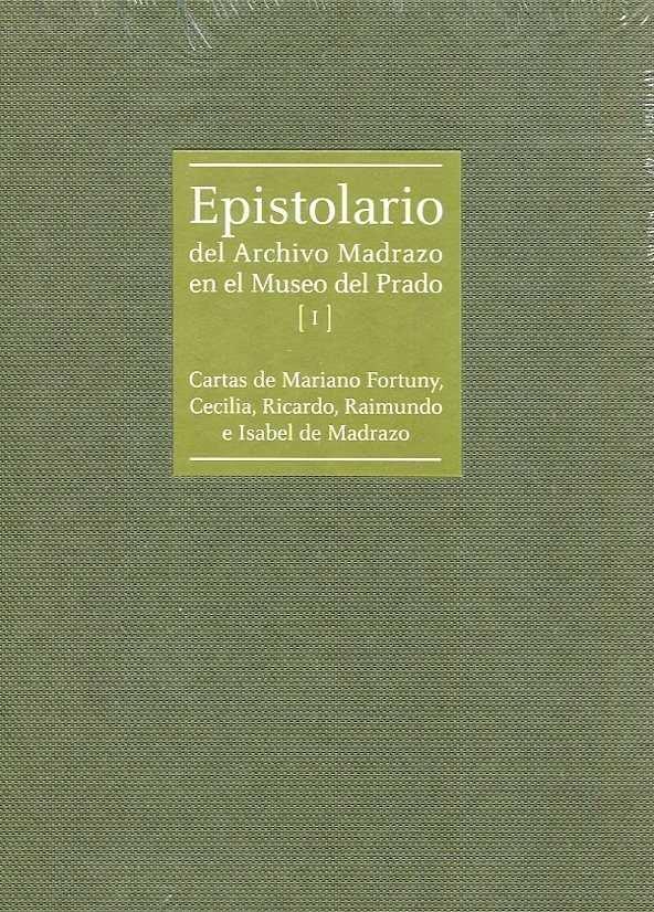 Epistolario del archivo madrazo en el museo del prado.