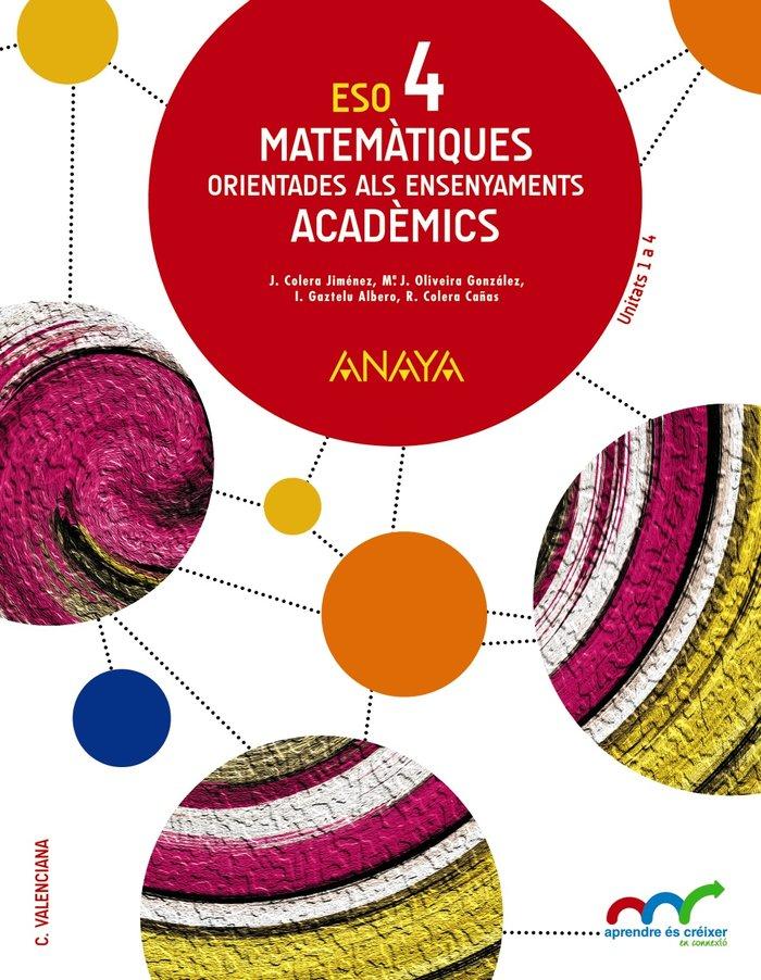 Matematiques 4ºeso valencia academics 16
