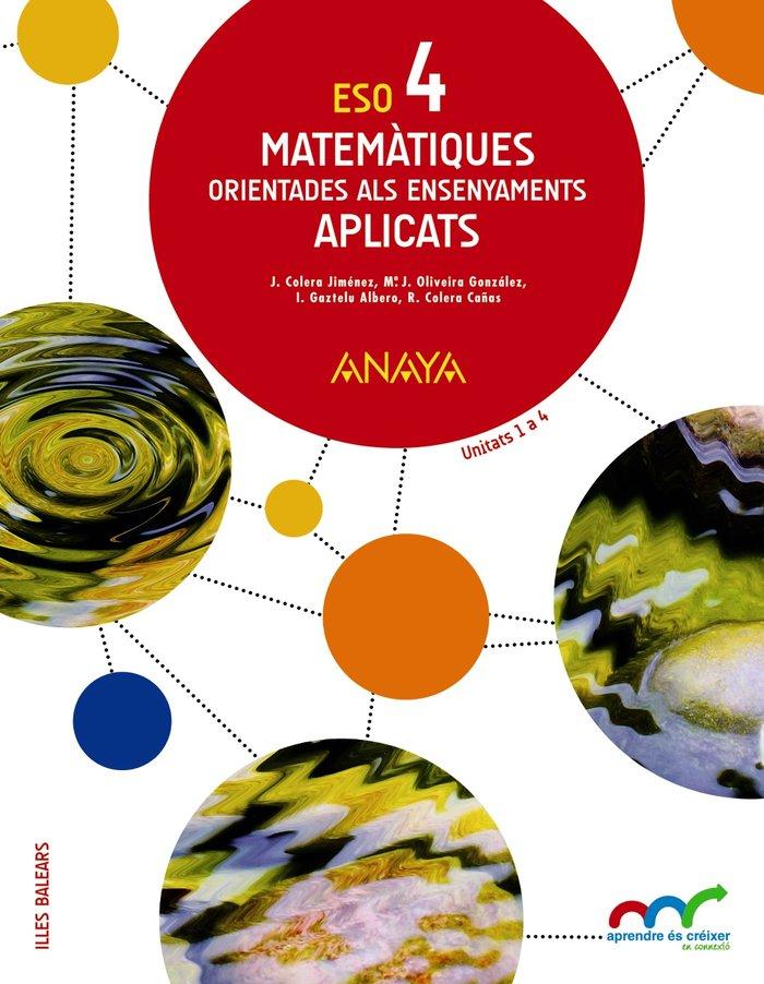 Matematiques 4ºeso baleares aplicats 16