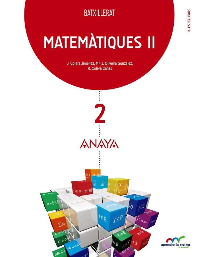 Matematiques ii 2ºnb baleares 16 aprendre es creix