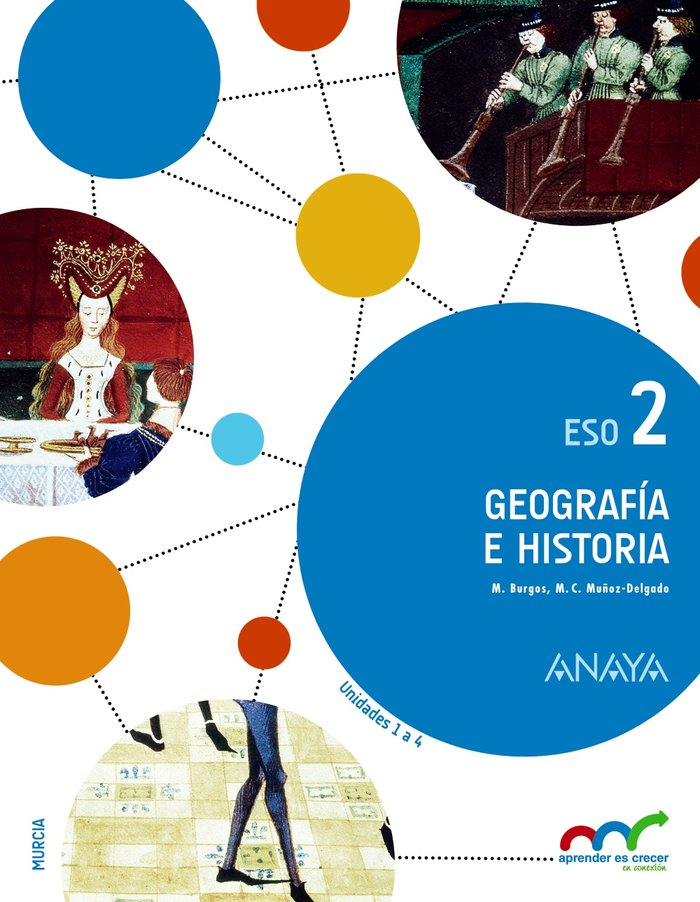 Geografia historia 2ºeso murcia 16 aprend.crecer