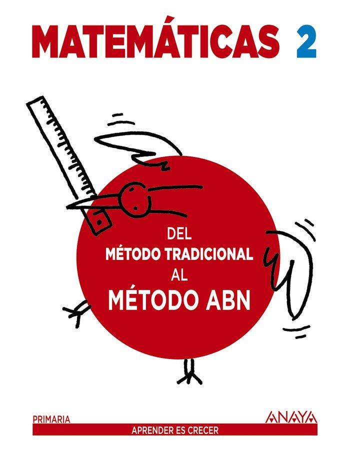 Cuaderno matematicas 2ºep 16 metodo tradic.al abn
