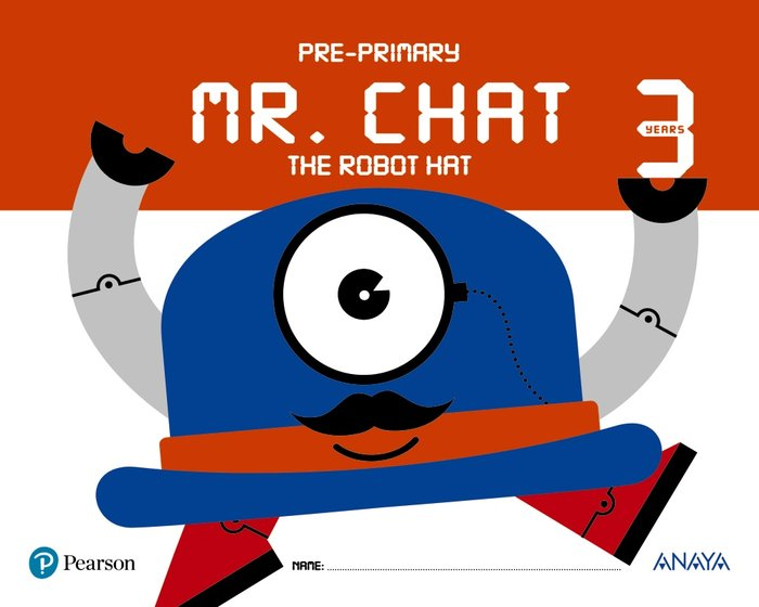 Mr chat the robot hat 3años ei 17