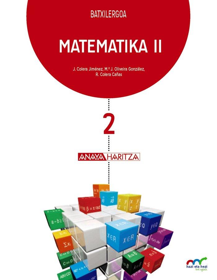 Matematika ii nb 17 p.vasco/navarra