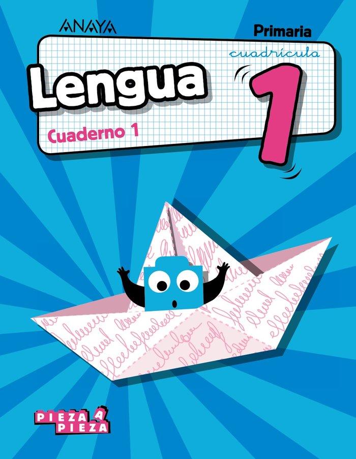 Cuaderno lengua 1 1ºep cuadricula 18 pieza a pieza