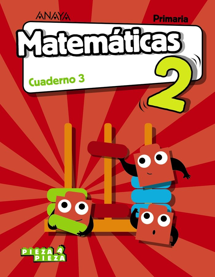 Cuaderno matematicas 3 2ºep 18 ar/ast/can/val/ext/