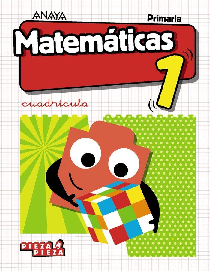 Matematicas 1ºep cuadr.18 pieza ar/as/ca/cant/va/e