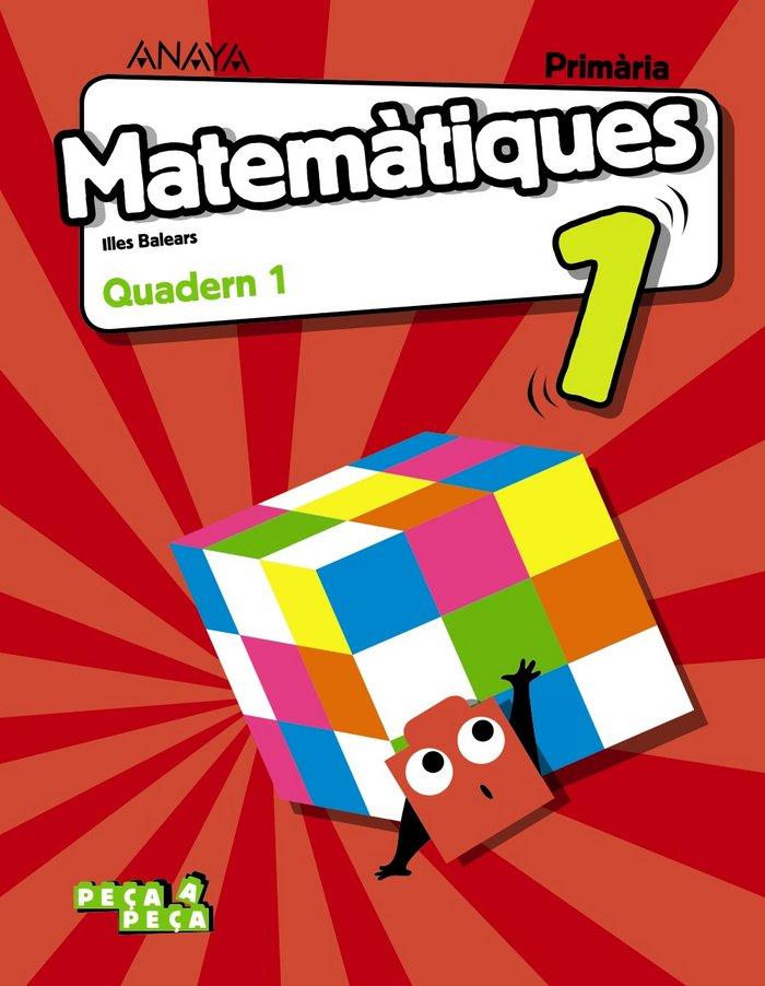 Quadern matematiques 1 1ºep baleares 18 peca a pec