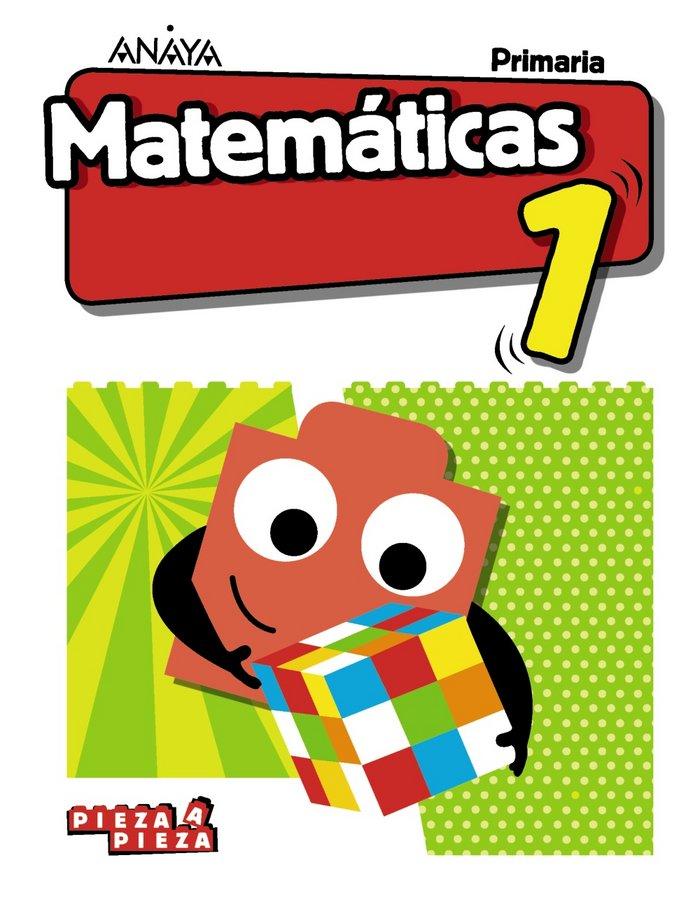 Matematicas 1ºep madrid 18 pieza a pieza