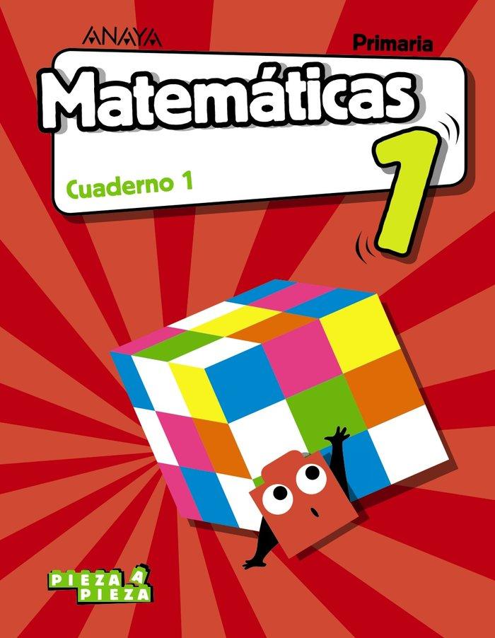 Cuaderno matematicas 1 1ºep 18 mec pieza a pieza