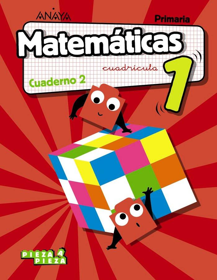 Cuaderno matematicas 2 1ºep 18 cuadric. madrid