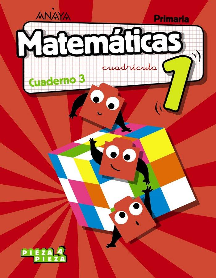 Cuaderno matematicas 3 1ºep cuadric.18 madrid