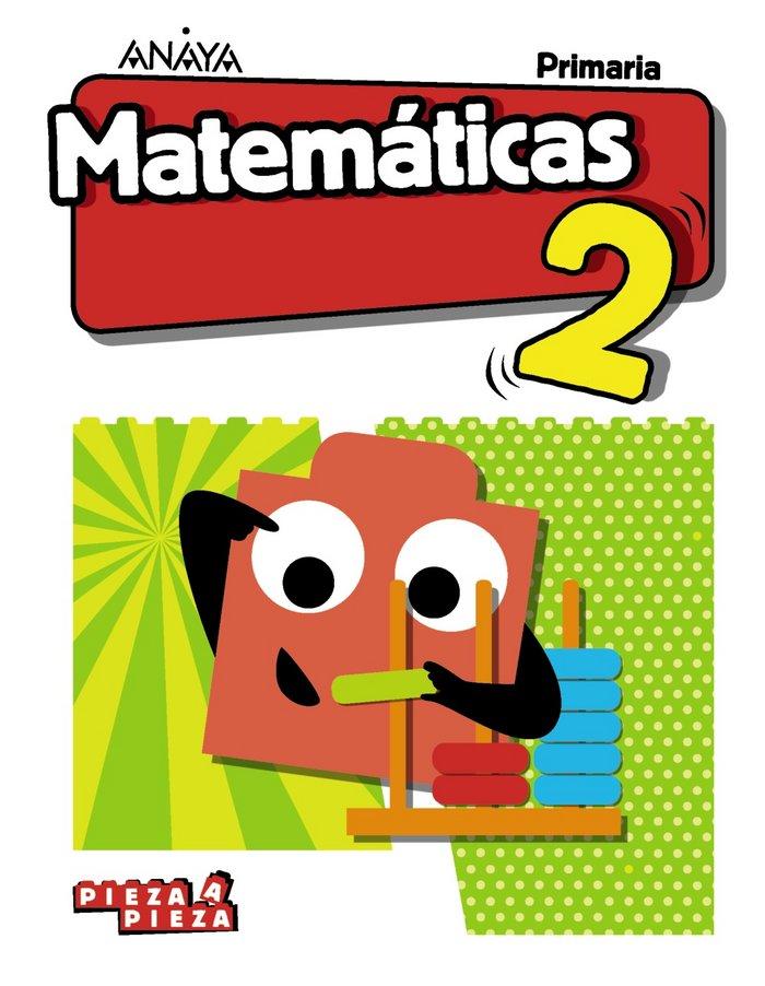 Matematicas 2ºep madrid 18 pieza a pieza