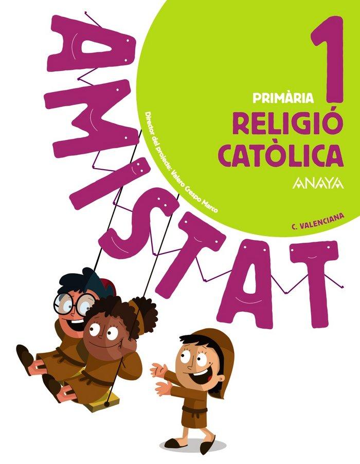 Religio catolica 1ºep valenciano 18 amistat