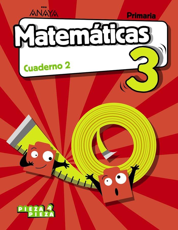 Cuaderno matematicas 2 3ºep c.mancha 18 pieza a pi