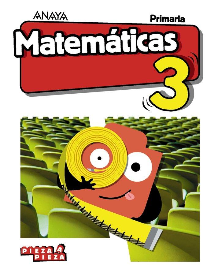 Matematicas 3ºep pieza a pieza aragon/canar/cantab