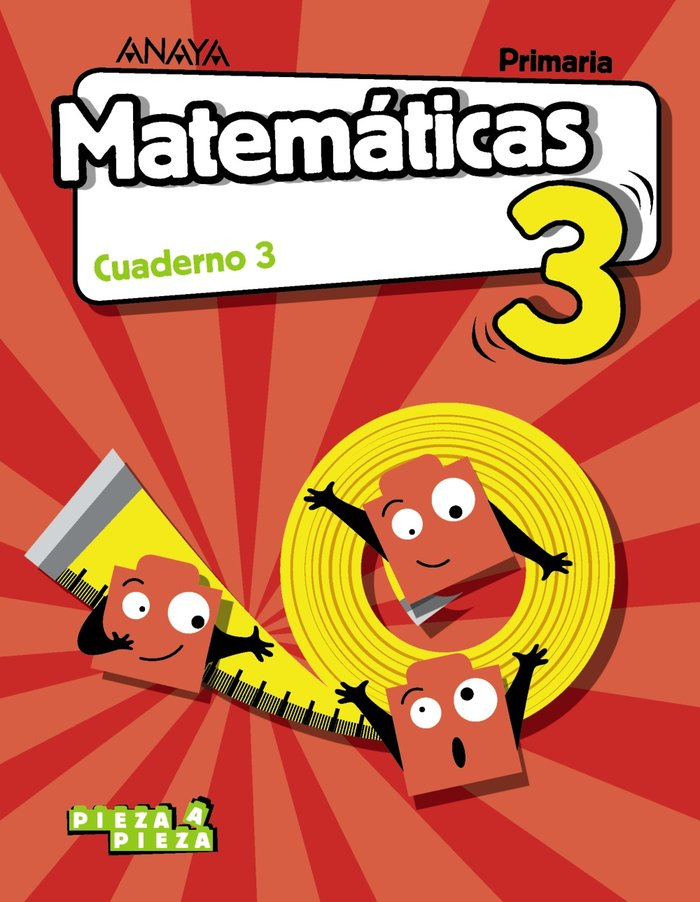 Cuaderno matematicas 3 3ºep 18 and/arag/can/can/ba