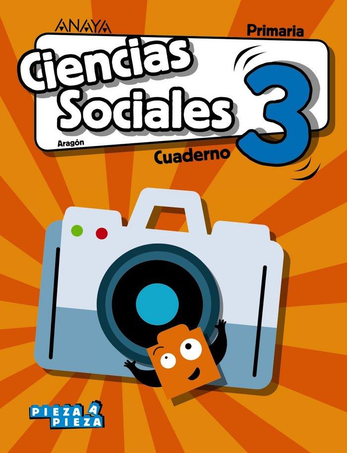 Cuaderno ciencias sociales 3ºep aragon 18 pieza a