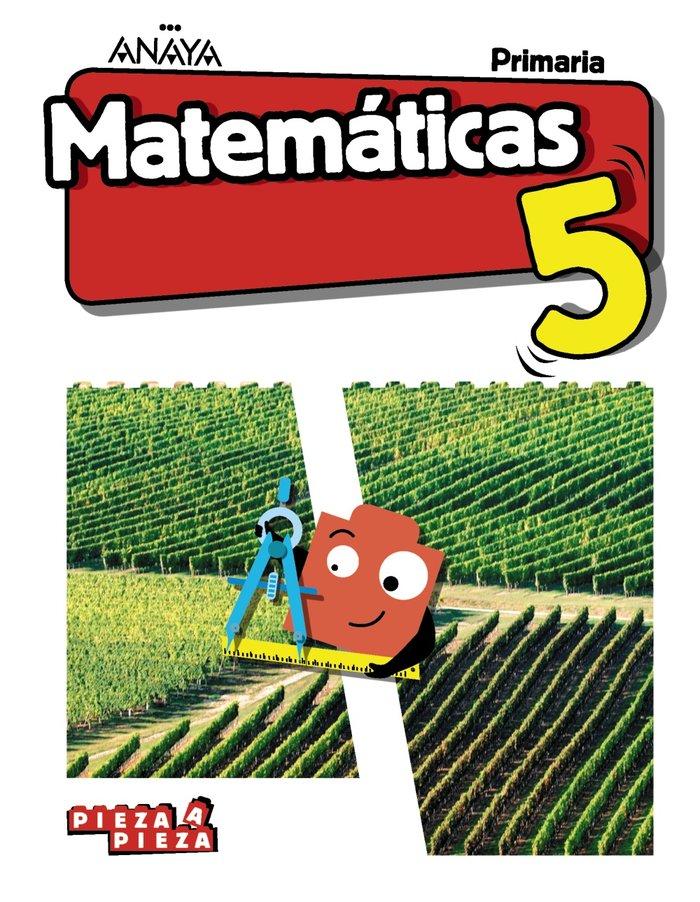 Matematicas 5ºep mancha/baleares 18 pieza a pieza