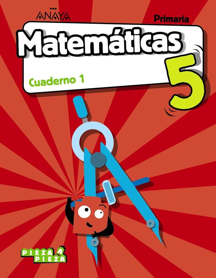 Cuaderno matematicas 1 5ºep c.manc/balea.18 pieza