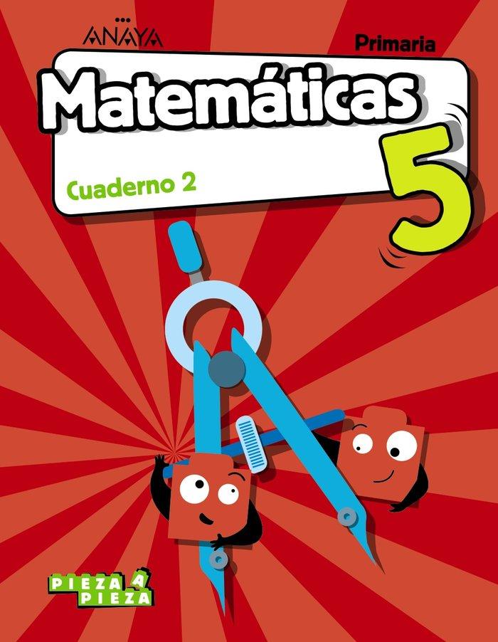Cuaderno matematicas 2 5ºep c.manc/balea.18 pieza