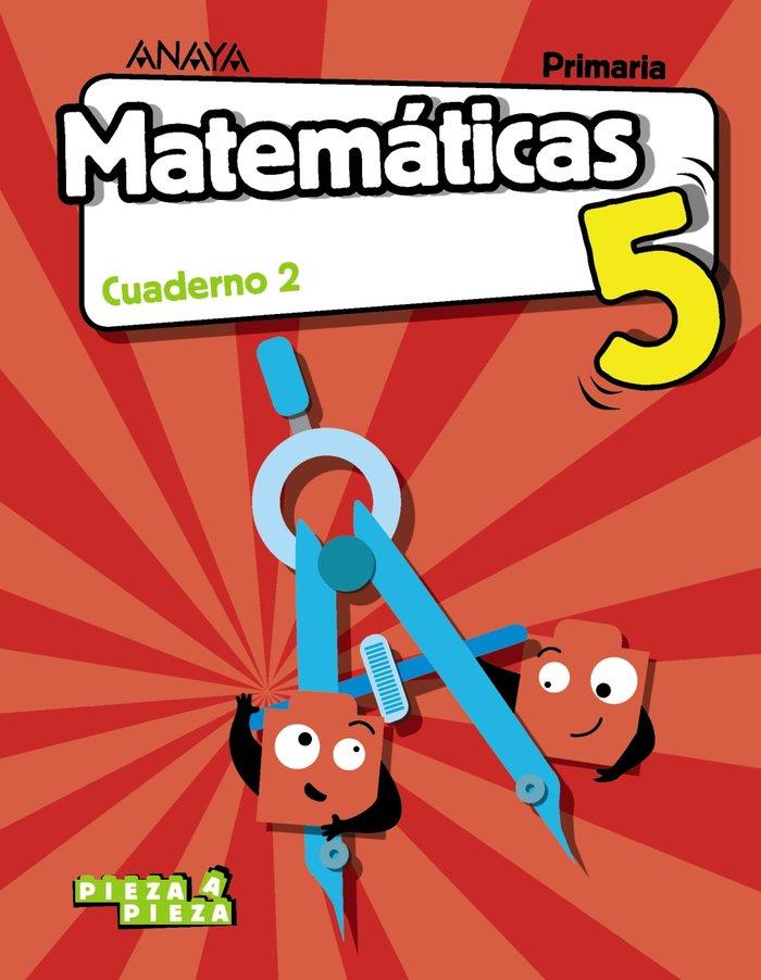 Cuaderno matematicas 2 5ºep 18 arag/cant/ceu/mel/n