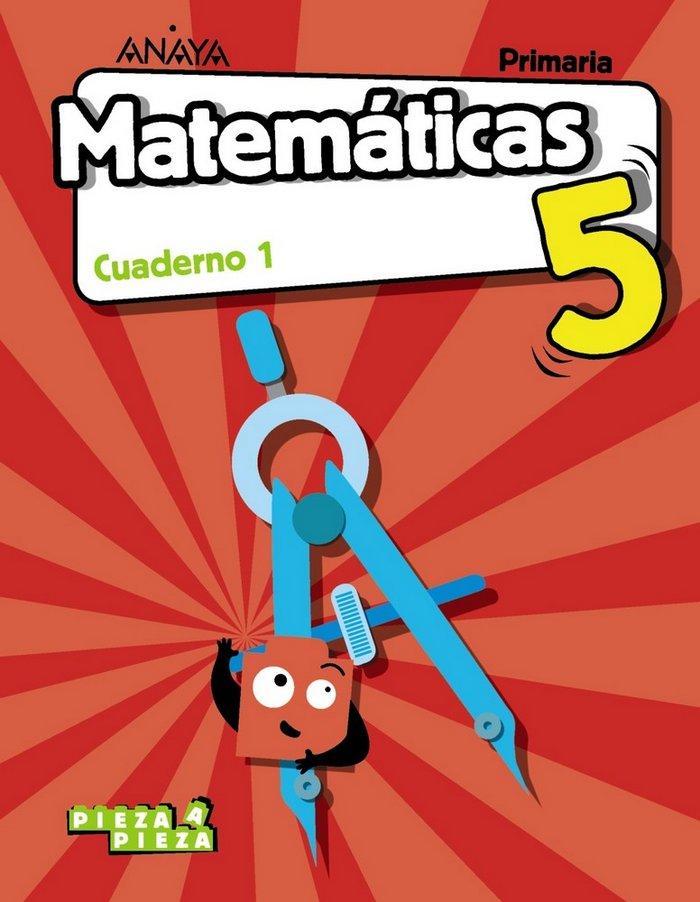 Cuaderno matematicas 1 5ºep madrid 18 pieza a piez