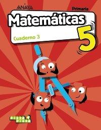 Cuaderno matematicas 3 5ºep madrid 18 pieza a piez
