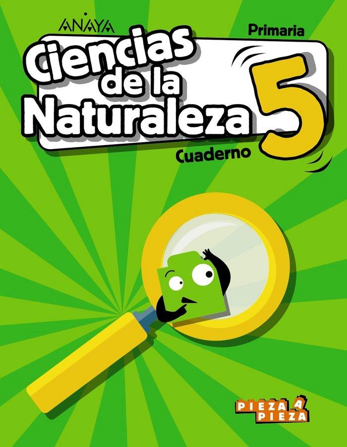 Cuaderno ciencias naturaleza 5ºep madrid 18 pieza