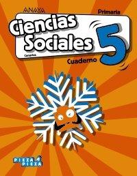 Cuaderno ciencias sociales 5ºep canarias 18 pieza
