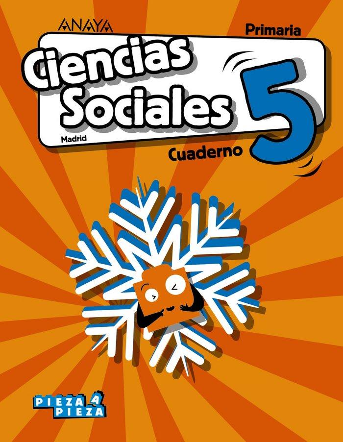 Cuaderno ciencias sociales 5ºep madrid 18 pieza a