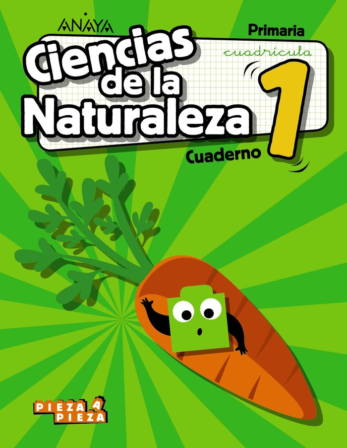 Cuaderno ciencias naturaleza 1ºep cuadr.18 madrid