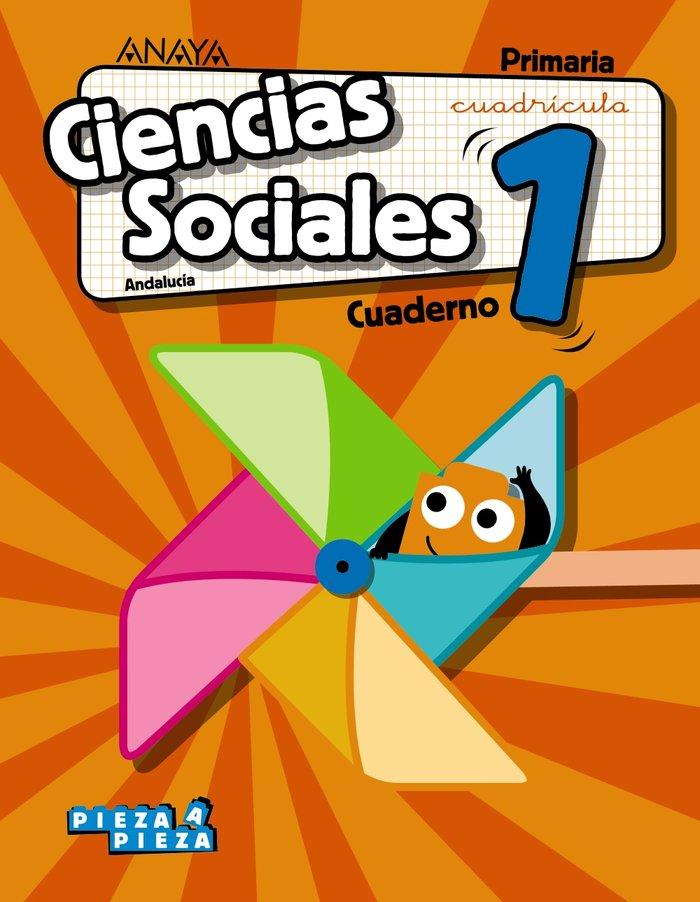 Cuaderno sociales 1ºep andalucia cuadricula 19