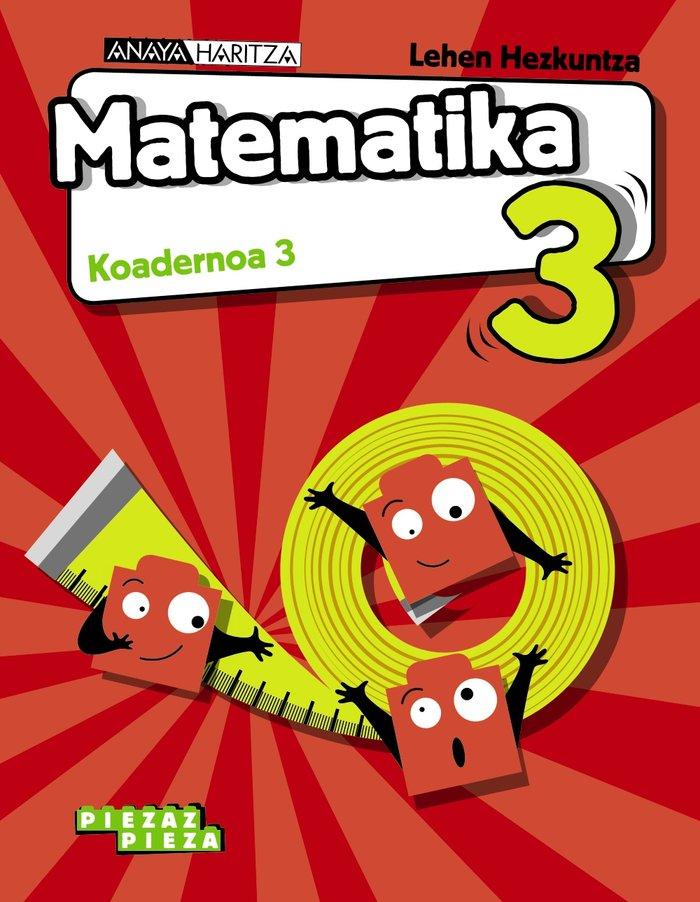 Matematika 3ºep  koadernoa 3 navarra 19