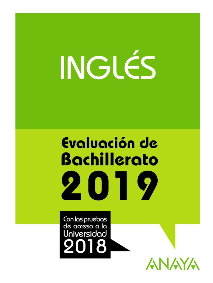 Ingles evaluacion de bachillerato 2019