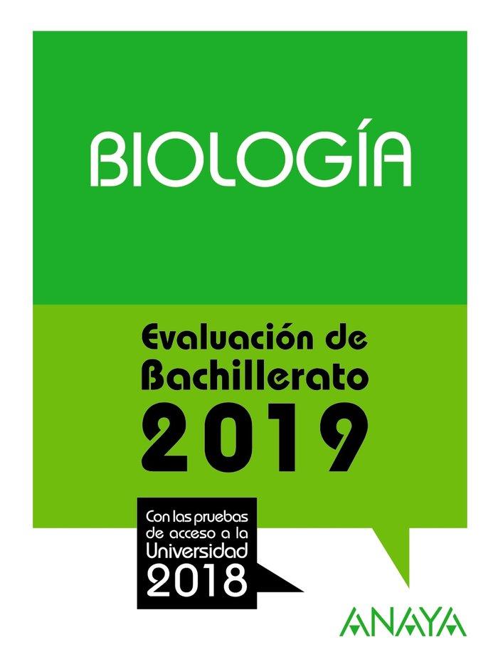 Biologia evaluacion de bachillerato 2019