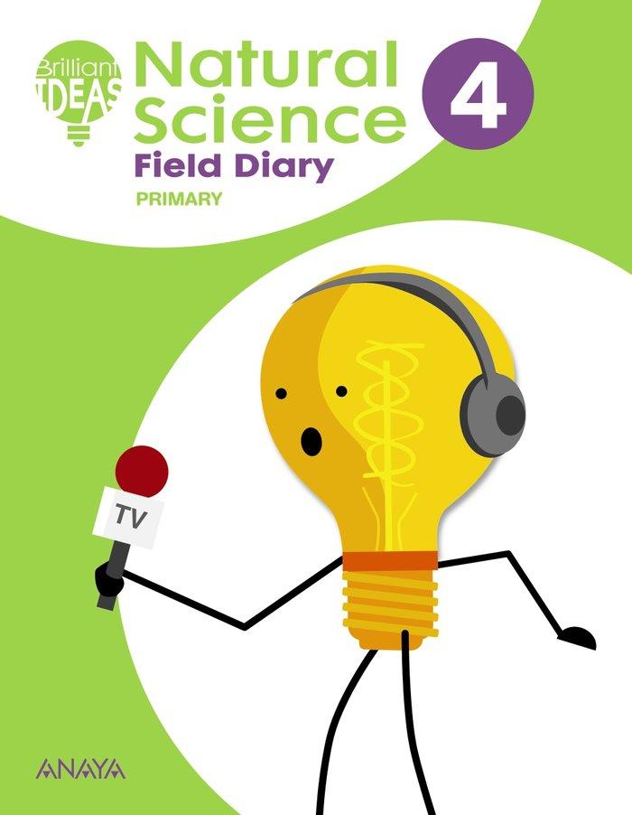 Natural science 4ºep 19 field diary cuaderno de ca