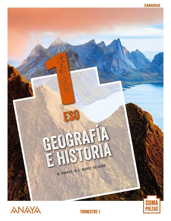 Geografia historia 1ºeso canarias 20 suma piezas