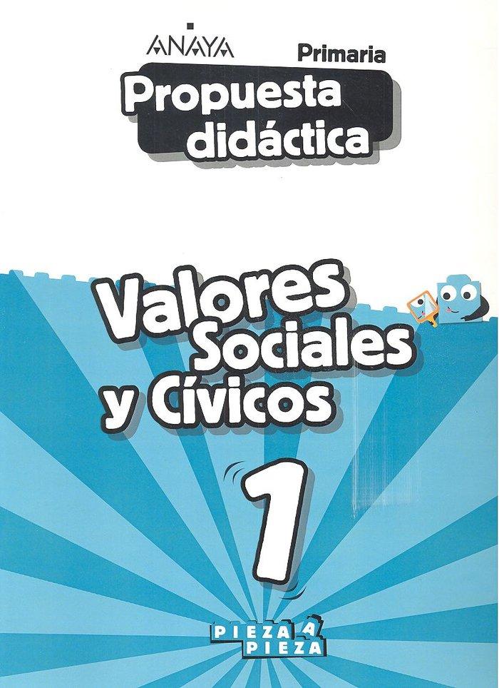 Propuesta didactica valores sociales y civicos 1