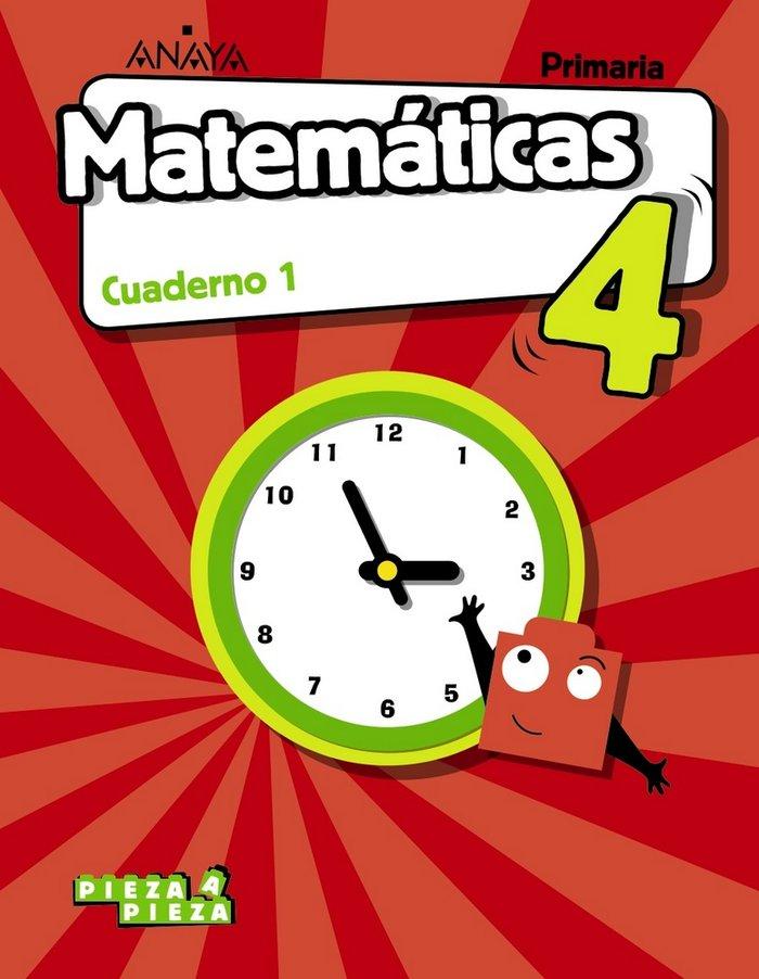 Cuaderno matematicas 1 4ºep andalucia 19 pieza